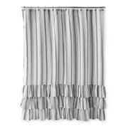 Better Homes Gardens Striped Ruffle Shower Curtain