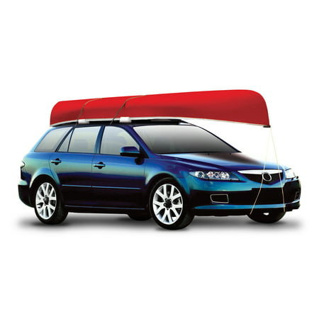 Propel Paddle Gear Car Top Canoe Carrier with (Canoe Straps)