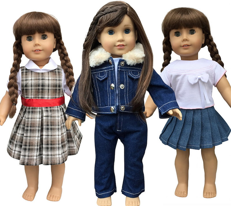 "American Girl Doll Clothes by In-Style Doll 18"" Doll Clothes Accessories by In-Style Doll Clothes"