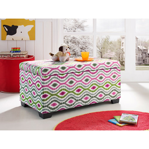 Sophia Collection by Waverly Storage Trunk, Optical Delights