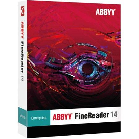 ABBYY FREFW14E ABBYY FineReader 14 Enterprise ESD (Digital (Abbyy Finereader 8-0 Professional Edition Portable Exe)