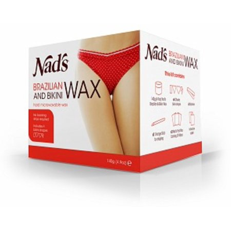 Nad's Brazilian & Bikini Wax 4.9 oz