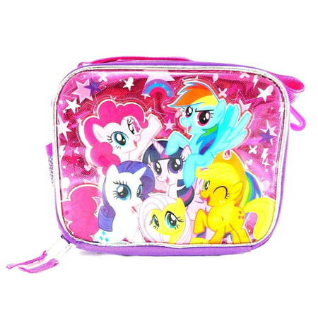 Lunch Bag - My Little Pony - Pink Group Girls New -