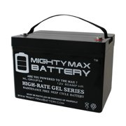 12V 60AH Group 34 Replacement Battery For Golf Carts