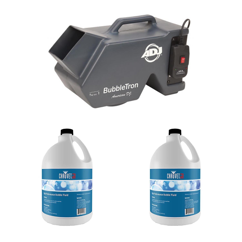 American Dj Bubble Machine/Remote + 2-Pack Bubble Fluid |...