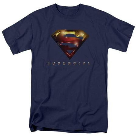 Supergirl- Radiant Shield Apparel T-Shirt - Blue - Super Girl Tshirt