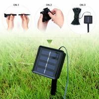 Tuscom 100 LED Solar/Battery Light Outdoor Fairy String Christmas Garden Lights