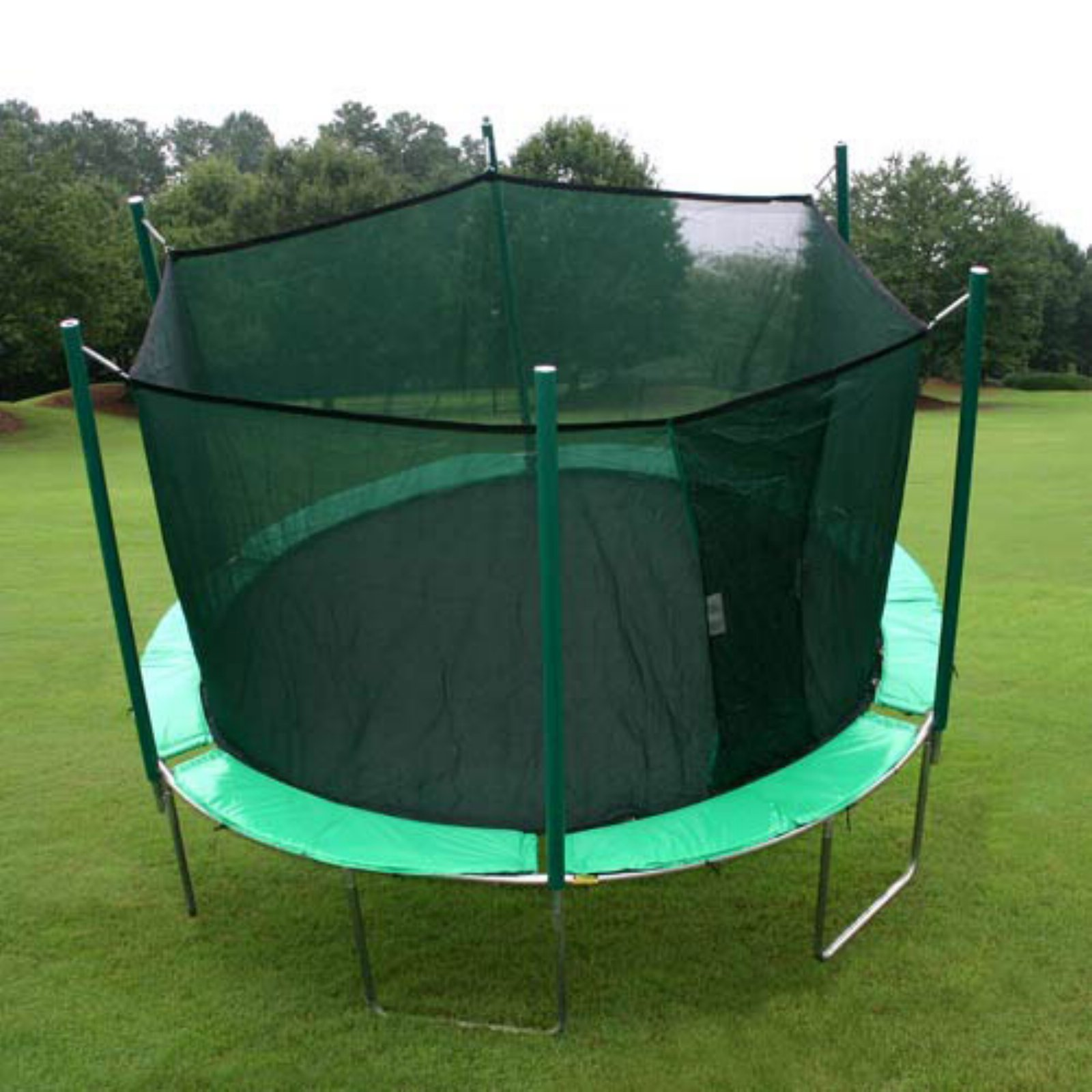 Kidwise Magic Circle Round 12-ft. Trampoline with Enclosure