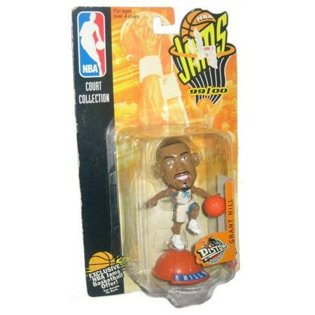 - NBA Jams Basketball Grant Hill Detroit Pistons 99/00 Mattel Figure