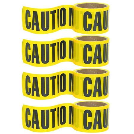 Police Caution Tape (Wideskall® 100' Feet x 3