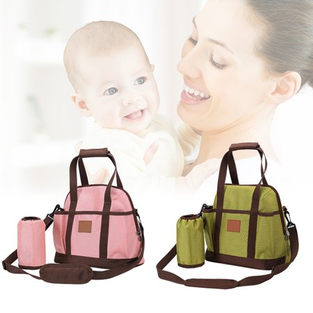 - Baby Diaper Bag Multi-function Diaper Tote Bag with Small Travel Nappy Bag for Boys and Girls