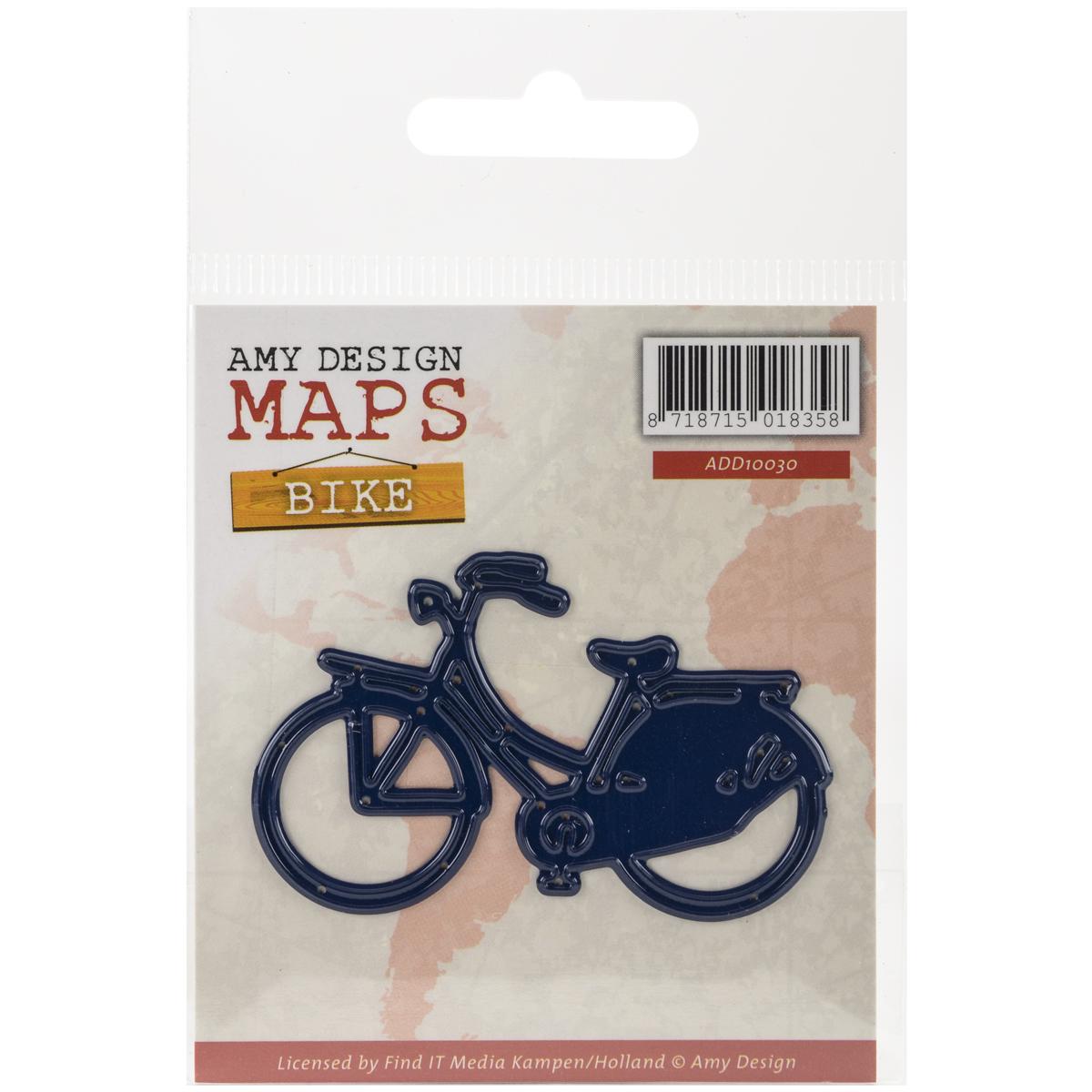 Find It Trading Amy Design Map Die-Bike