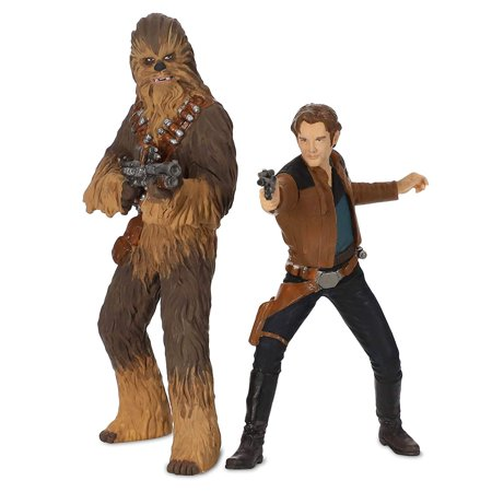 Hallmark 2018 Ornament - Han Solo and Chewbacca - Solo: A Star Wars Story - Chewbacca Ornament