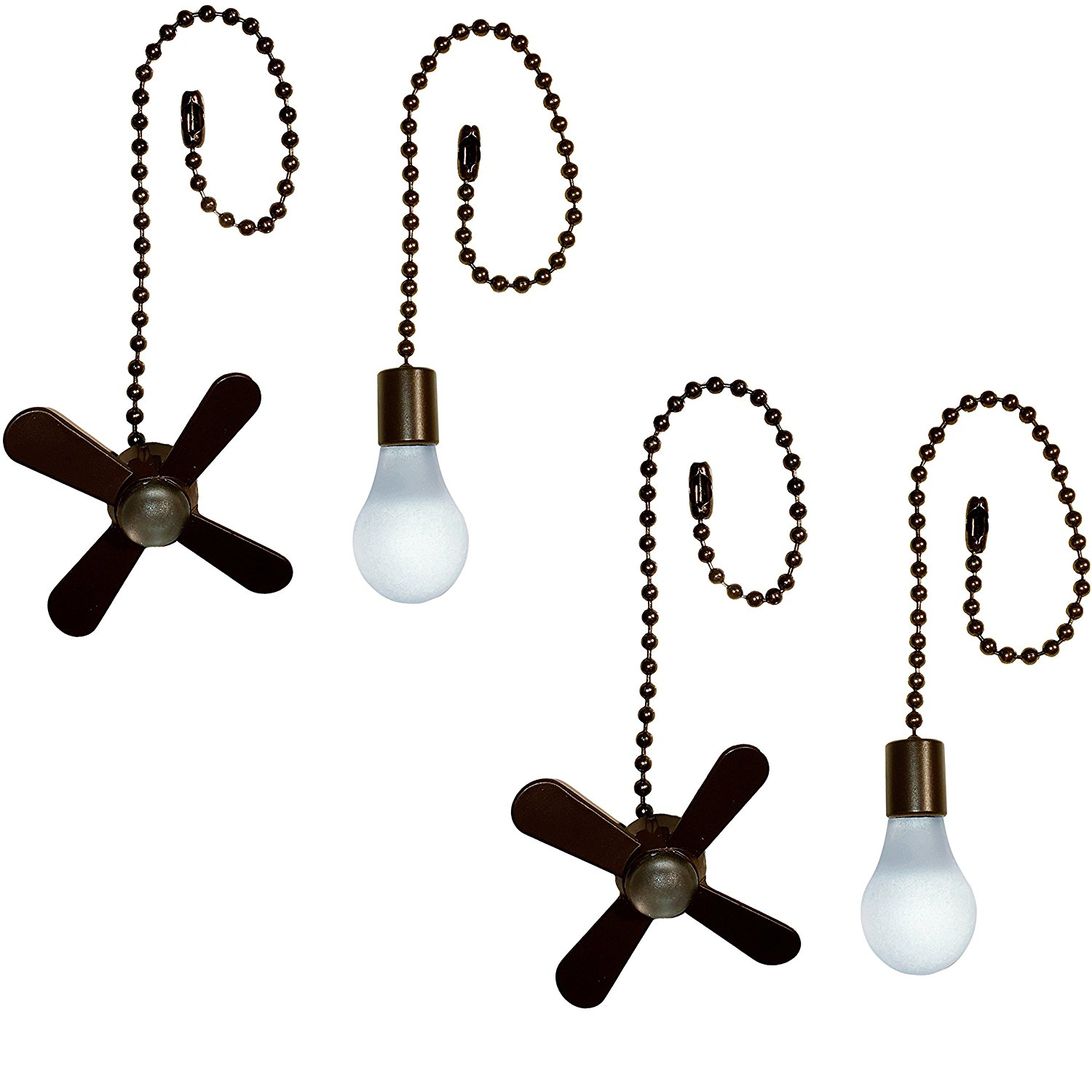 Ceiling Fan Pull Chain (2 Pack, Bronze) By Harbor Breeze