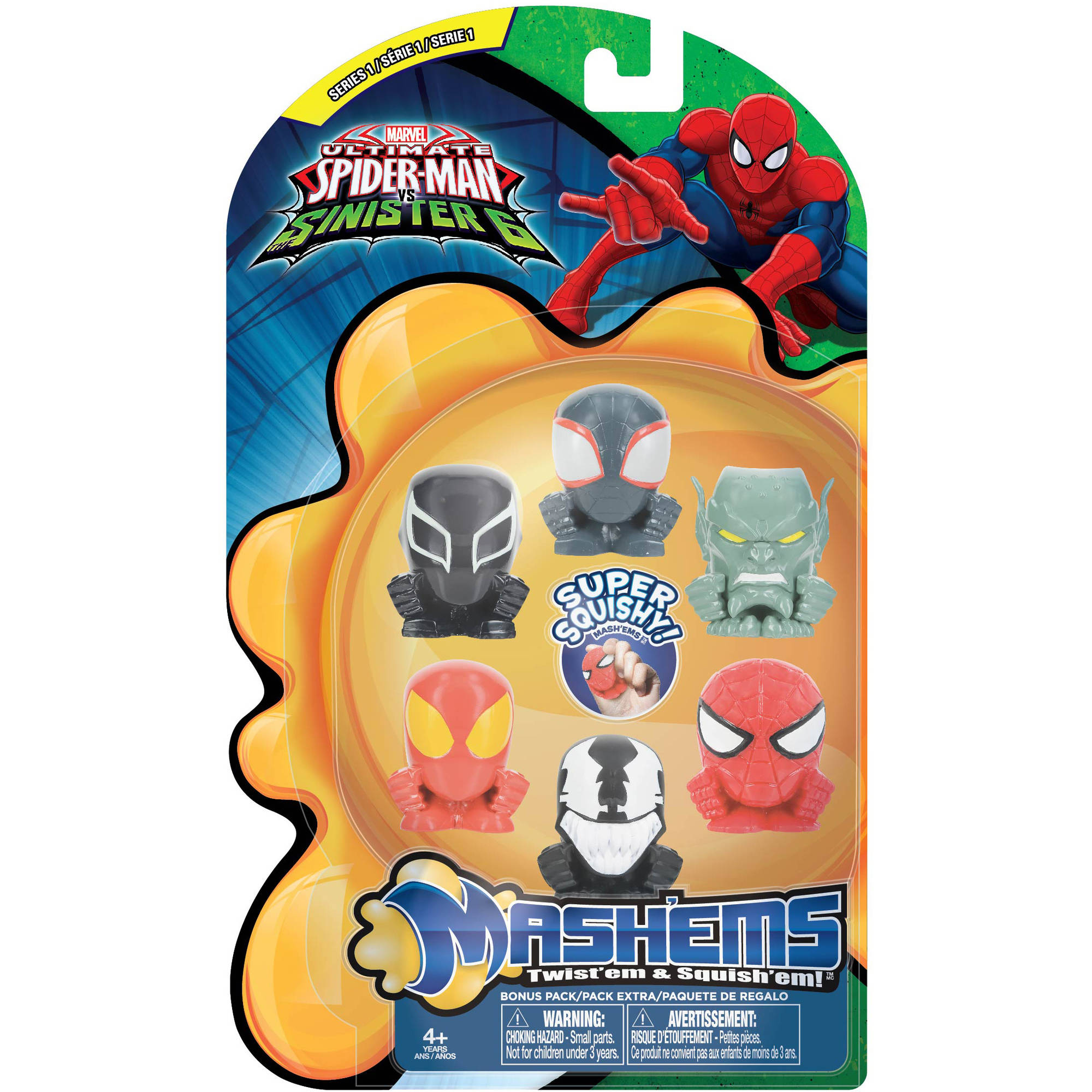 Mash'ems Spider-Man Sinister 6 Value Pack