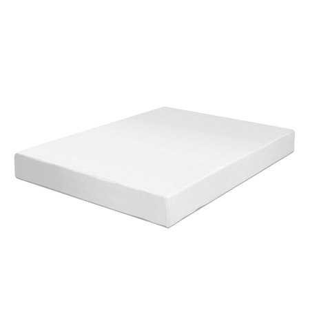 Swiss Ortho Sleep 6-Inch High-Density 2x Layered Full Memory Foam Mattress with Bamboo Cover
