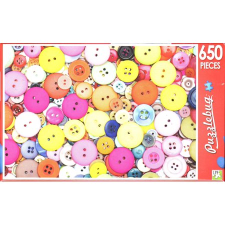 Puzzlebug 650 - Colorful Pastel Buttons