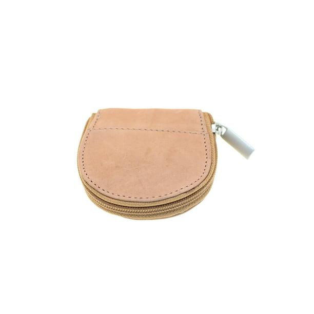 Paul & Taylor - Women Coin Purse Change Pouch Genuine Leather Round Zipper  Closed 2 Compartments - Walmart.com - Walmart.com