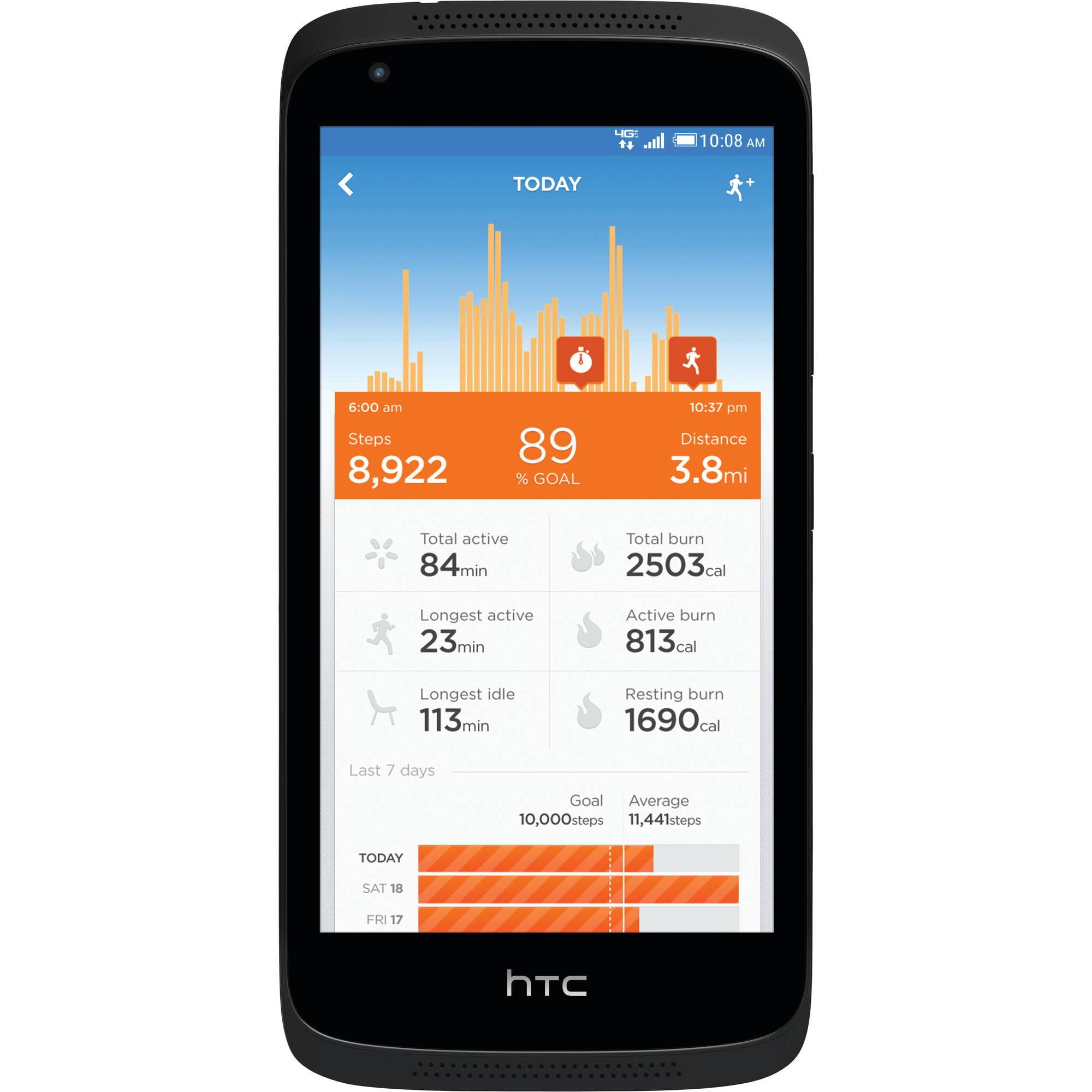 Verizon HTC 526 Prepaid Smartphone w/ Bonus Jawbone