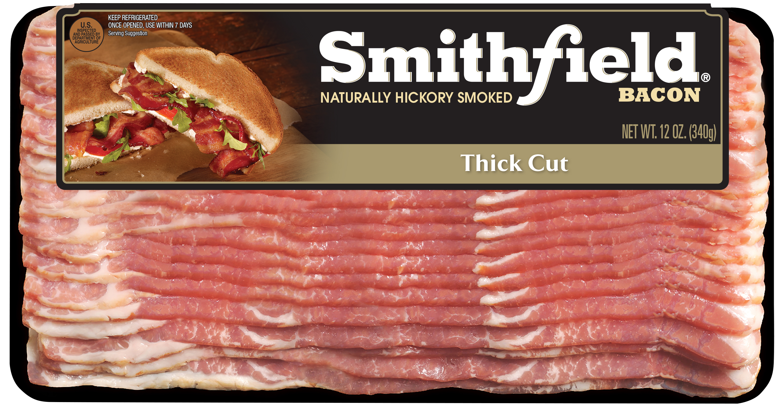 Smithfield Auto Center >> Smithfield Naturally Hickory Smoked Thick Cut Bacon, 12 oz ...