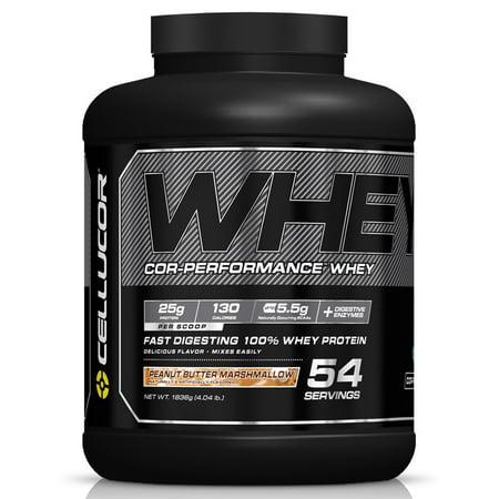 Cellucor COR-Performance Gen4 v2 Whey Protein Powder, Peanut Butter Marshmallow, 5 Lb
