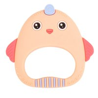 KABOER Baby Teethers Silicone Cat Teething Toys Chew Charms Infants Free Diy Necklace Pendant