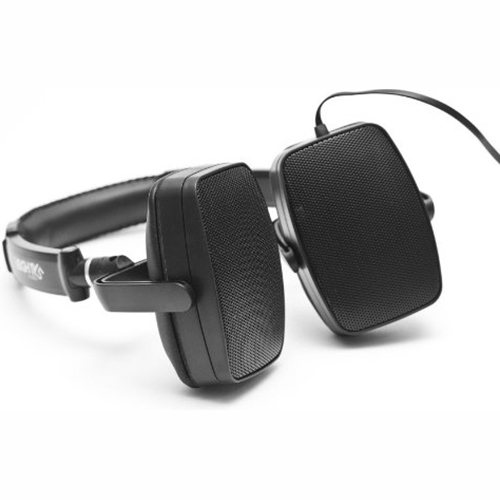Image of 3eighty5 Audio DuoPlay Black Stereo Headphone & Portable Speaker