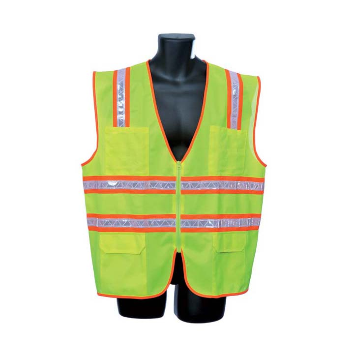 Lime Green Surveryor's Vest Lot of 1 Pack(s) of 1 Unit
