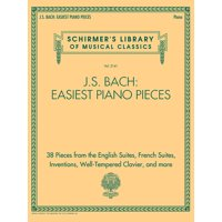 J.S. Bach: Easiest Piano Pieces: Schirmer's Library of Musical Classics, Vol. 2141 (Paperback)