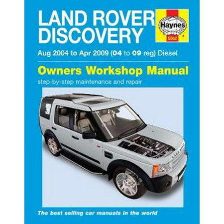 Land Rover Discovery Diesel (Aug 04 - Apr 09) Haynes Repair Manual (Haynes Service and Repair Manuals) (Paperback) (Harvester Service Manual)