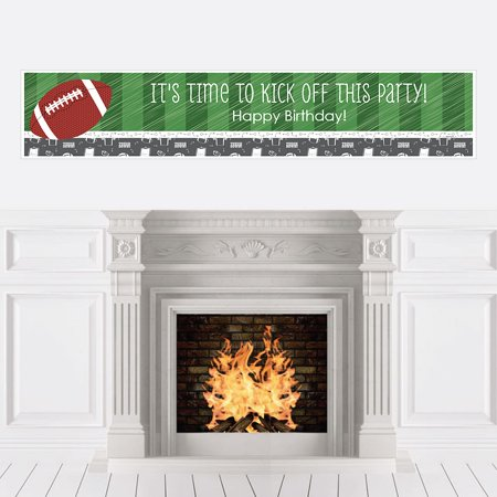 End Zone - Football - Birthday Party Decorations Party Banner](Football Birthday)