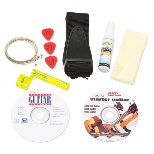 eMedia Guitar Accessory Kit by Emedia