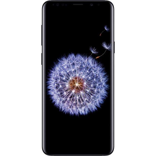 Simple Mobile SAMSUNG Galaxy S9 LTE, 64GB Black - Prepaid Smartphone