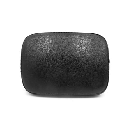 Black 6 Suction Cup Soft Motorcycle Pillion Passenger Pad  for