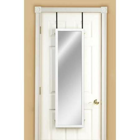 mirrotek three panel over the door dressing mirror. Black Bedroom Furniture Sets. Home Design Ideas