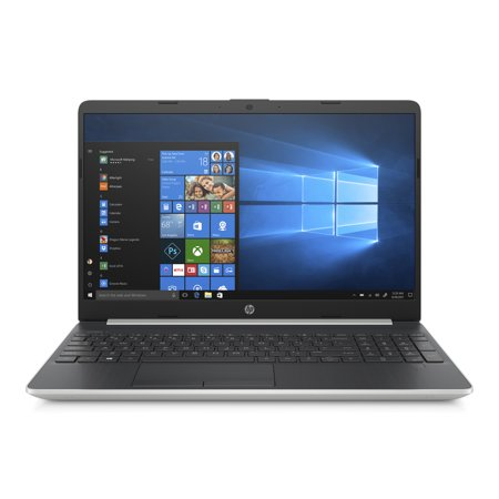 HP 15 Ghost Silver Laptop 15.6u0022HD, Intel Core i3-8145U, Intel® UHD Graphics 620, 8GB SDRAM, HDD, 15-dw0037wm