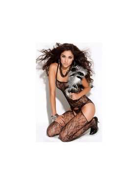 e832e63003 Product Image Elegant Moments Lace Suspender Bodystocking 8502 Black