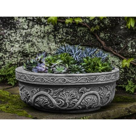 - Campania International Cast Stone Chandra Bowl Planter
