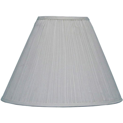 Better Homes and Gardens White Softpleat Hardback Table Shade
