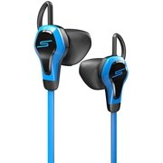 SMS Audio Bio Sport Biometric Earbuds with Heart Rate Monitor, black/blue