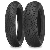 Shinko 87-4479 SR735 Series Front/Rear Tire - 110/90-16
