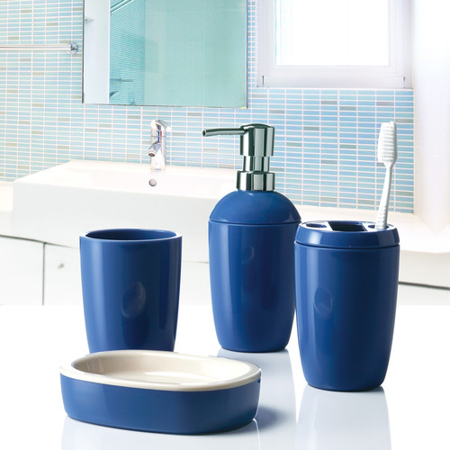 Immanuel In-Out 4-Piece Bathroom Accessory Set