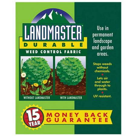Easy Gardener 301051 3 X 100 Landmaster Durable Weed Control Fabric