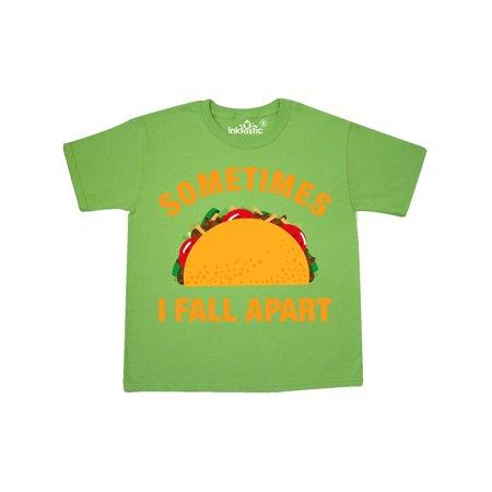 Tacos Fall Apart Youth T-Shirt - Fall Items