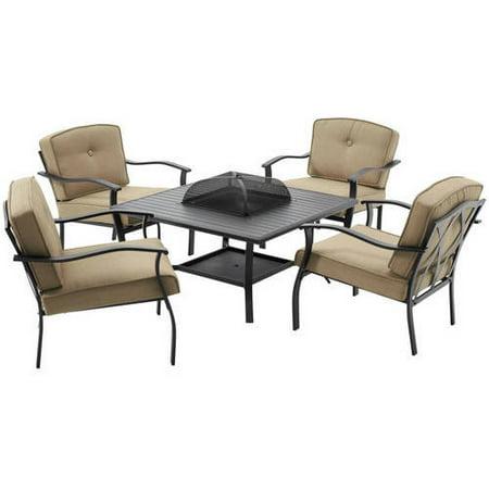 Mainstays Belden Park 5 Piece Patio Furniture Set With