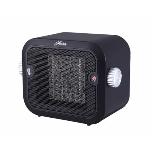 Hunter Pc-003bk Retro Ceramic Space Heater [black]