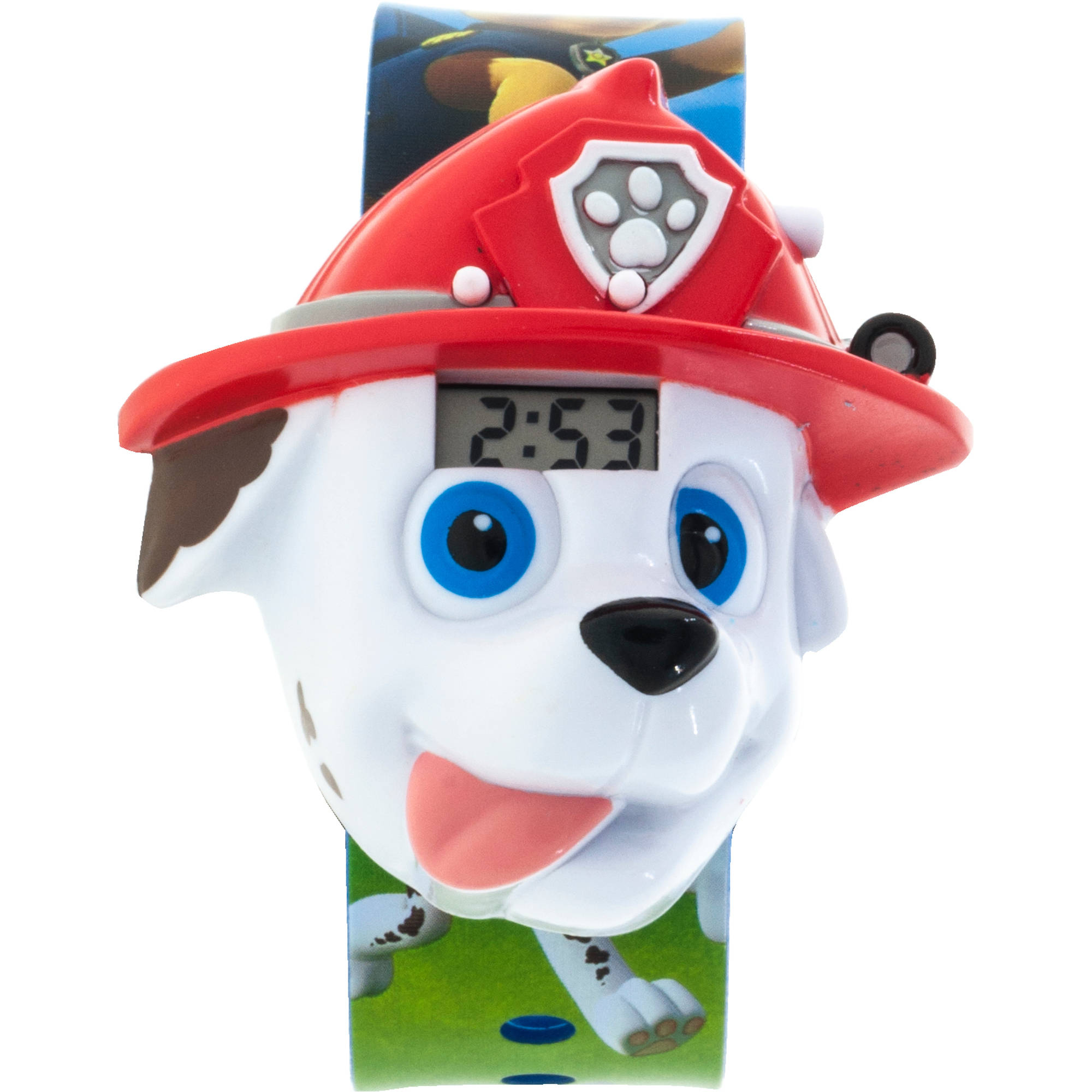 Nickelodeon Paw Patrol Boys Marshal Molded Sound LCD Watch
