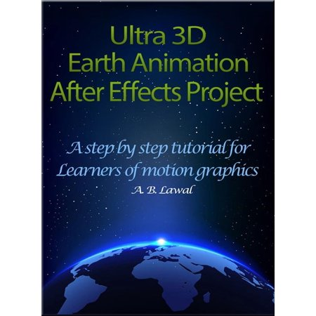 Ultra 3D Earth Animation After Effects Project - eBook