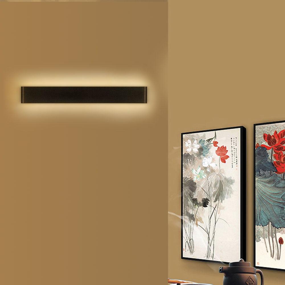 Bedroom Wall Light, Wall Light,Creative Modern Minimalist Aluminum 12W 18W LED Wall Lamp Bedside Hallway Bathroom Mirror... by