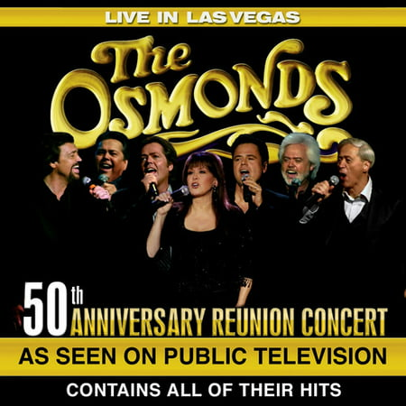 The Osmonds: Live in Las Vegas: 50th Anniversary Reunion Concert (DVD) ()